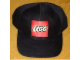 Gear No: LegoCap  Name: Ball Cap, Lego Logo Pattern, Black