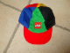 Gear No: LegoCap06  Name: Ball Cap, Classic Colors with Lego Logo Pattern, Red Bill