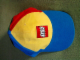 Gear No: LegoCap08  Name: Ball Cap, Classic Colors with Lego Logo Pattern, Blue Bill