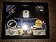 Gear No: LoMcert2  Name: Framed Minifigure LoM Antares International Space Station Passenger with Certificate of Authenticity