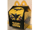 Gear No: MCDbox01  Name: McDonald's Box, The LEGO Batman Movie Pattern