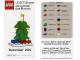 Gear No: MMMB1012DE  Name: Mini-Modell des Monats-Karte - 2010 12 Dezember, Weihnachtsbaum
