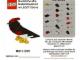 Gear No: MMMB1103DE  Name: Mini-Modell des Monats-Karte - 2011 03 März, Vogel