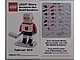 Gear No: MMMB1202DE  Name: Mini-Modell des Monats-Karte - 2012 02 Februar, Hockeyspieler