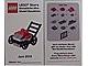 Gear No: MMMB1206DE  Name: Mini-Modell des Monats-Karte - 2012 06 Juni, Rasenmäher