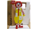 Gear No: McDAM4  Name: Display Assembled Model, Large Ronald McDonald