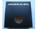 Gear No: MxBox22W  Name: Modulex Storage Box Black 2 x 2 with Window (Empty)