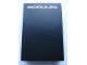 Gear No: MxBox23  Name: Modulex Storage Box Black 2 x 3 (Empty)