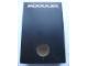 Gear No: MxBox23W  Name: Modulex Storage Box Black 2 x 3 with Window (Empty)
