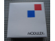 Gear No: MxWBox22  Name: Modulex Storage Box White 2 x 2