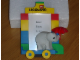 Gear No: PFLL2  Name: Photo Frame Legoland Duplo with Elephant