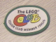 Gear No: Patch01  Name: Patch, Sew-On Cloth Oval, The Lego Club senior member 1995 / 1996