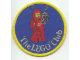 Gear No: Patch03  Name: Patch, Sew-On Cloth Round, The Lego Club (Classic Space Man)