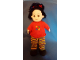 Gear No: Plush14  Name: Duplo Doll Plush Sarah Dressed in Clothes (removable) (2955)