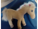 Gear No: Plush21  Name: Belville Large White Horse Plush, Fully Poseable Legs, Silver Feet and Pink Bows and Gold Stars above Eyes