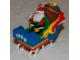 Gear No: QX5453  Name: Christmas Tree Ornament, Hallmark Santa's LEGO Sleigh