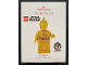 Gear No: QXI3687  Name: Christmas Tree Ornament, Hallmark LEGO Star Wars C-3PO, 20th Anniversary