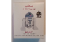 Gear No: QXI3689  Name: Christmas Tree Ornament, Hallmark LEGO Star Wars R2-D2, 20th Anniversary