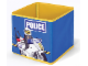 Gear No: SD336blue  Name: Textile Toy Bin 20 x 20 x 20 Police Blue