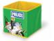 Gear No: SD336green  Name: Textile Toy Bin 20 x 20 x 20 Police Green