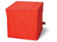 Gear No: SD377red  Name: Storage Stool Red 30.5 x 30.5 x 31.5
