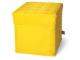 Gear No: SD377yellow  Name: Storage Stool Yellow 30.5 x 30.5 x 31.5