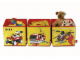 Gear No: SD471yellow  Name: Connectable Toy Bin Set - Yellow Fire Pattern