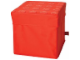 Gear No: SD508red  Name: Storage Stool Red 38 x 38 x 37