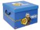 Gear No: SD535blue  Name: Storage Box XXL Police Blue 33 x 33.5 x 25.5