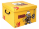 Gear No: SD535yellow  Name: Storage Box XXL Fire Yellow 33 x 33.5 x 25.5