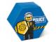 Gear No: SD656blue  Name: Storage Jar Police Blue 19.5 x 19.5 x 11.5
