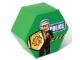 Gear No: SD656green  Name: Storage Jar Police Green 19.5 x 19.5 x 11.5
