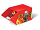 Gear No: SD661red  Name: Storage Bin Stackable Fire Red 14 x 28 x 14.5