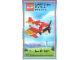 Gear No: SMMB1310  Name: Special Mini Model Build Card - 2013 10 October 10, Fire Plane