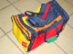 Gear No: SportBag01  Name: Sports Bag, Classic Colors and Lego Logo Pattern