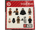 Gear No: TGTSW01  Name: Sticker, Star Wars Minifigure Sheet - Target Promotional