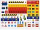 Gear No: TLCUK10  Name: Sticker Sheet, The Lego Club UK Sheet 10