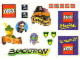 Gear No: TLCUS02  Name: Sticker, The Lego Club US/Canada Sheet 02