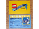 Gear No: TRUDL09  Name: Driver's License, Official Lego Bricktober 500, 2009
