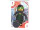 Gear No: TRUTC01  Name: Toys 'R' Us Trading Card Various Themes - No.  1 - The LEGO Ninjago Movie - 1 Lloyd