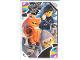 Gear No: TRUTC09  Name: Toys 'R' Us Trading Card Various Themes - No. 9 - The LEGO Ninjago Movie - Haimonster / Shark Army