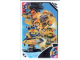 Gear No: TRUTC20  Name: Toys 'R' Us Trading Card Various Themes - No. 20 - Nexo Knights - +3 Team Nexo Knights