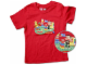 Gear No: TS52  Name: T-Shirt, Paul Frank Small Paul Kids' LEGO Playtime
