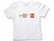 Gear No: TS57  Name: T-Shirt, Paul Frank Men's LEGO Stripe