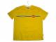 Gear No: TSstripes  Name: T-Shirt, LEGO Logo and Horizontal Multicolor Stripes