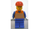 Gear No: TownFig  Name: Figure Large, Minifigure Legoland California Town Construction Worker