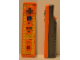 Gear No: WiiRemOr  Name: Remote Unit Orange, LEGO Play and Build Remote for Nintendo Wii - Without Tiles