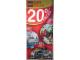 Gear No: XmasBan04  Name: Display Flag Cloth, LEGO Holiday Sale (2009)