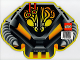 Gear No: alienmat  Name: Computer Mouse Pad, UFO Alien Mechanical Helmet Pattern