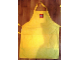 Gear No: apron1  Name: Apron, Yellow with Lego Logo Pattern